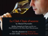 FREE WINE TASTING EVENT – REQUEST YOUR INVITATION- CHAIS D'OEUVRE