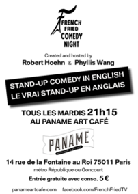 French Fried Comedy Night Expatriates Magazine