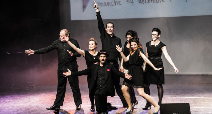 NEW –  THE IMPROVISED MUSICAL