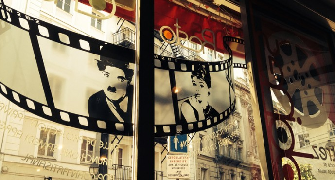 DINNER AND A MOVIE IN PARIS