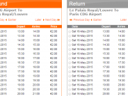 Bye bye RER B – EasyBus Paris Service begins on the 15th May – 4€ return from Louvre to CDG Airport