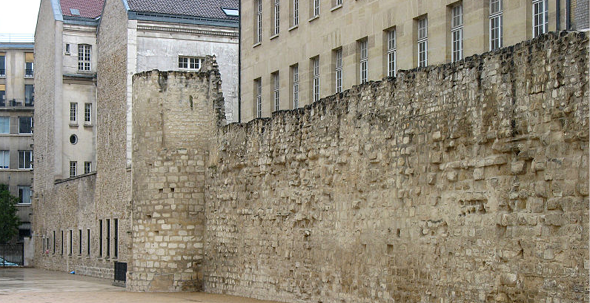 Where to Visit Little-Known Remnants of Paris' Medieval City Wall