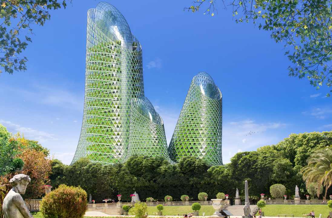 Image : Photosynthesis Tower by Vincent Callebaut Architectures -www.vincent.callebaut.org