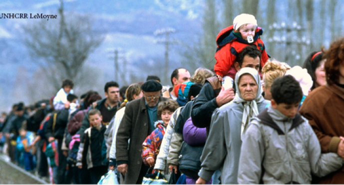 REFLECTIONS  ON THE LIFE OF  A WAR REFUGEE
