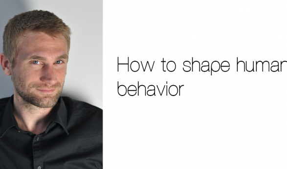 JOSHUA SMITH'S  'HOW TO SHAPE  HUMAN BEHAVIOR' IS PUBLISHED