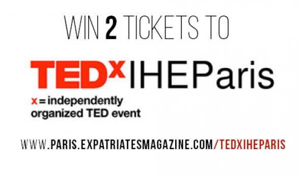 WIN TWO TICKETS TO TEDxIHEParis