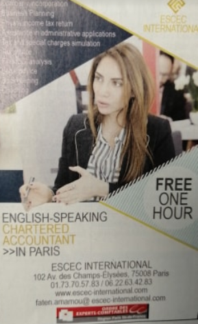 Free 1 hour consultation (English-Speaking Chartered Accounting)